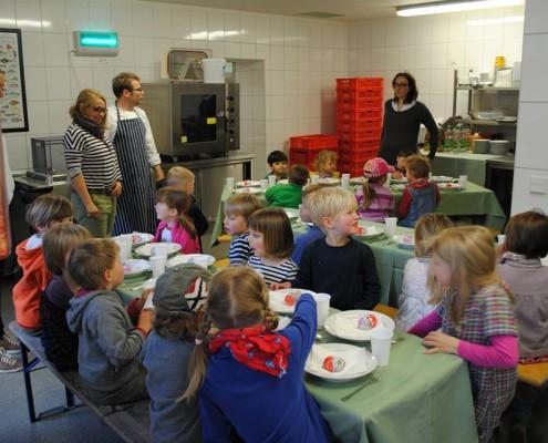 Kita Catering Kinder bei Lenschen Sohn